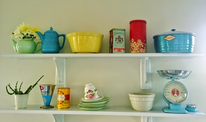 my new kitchen shelves
