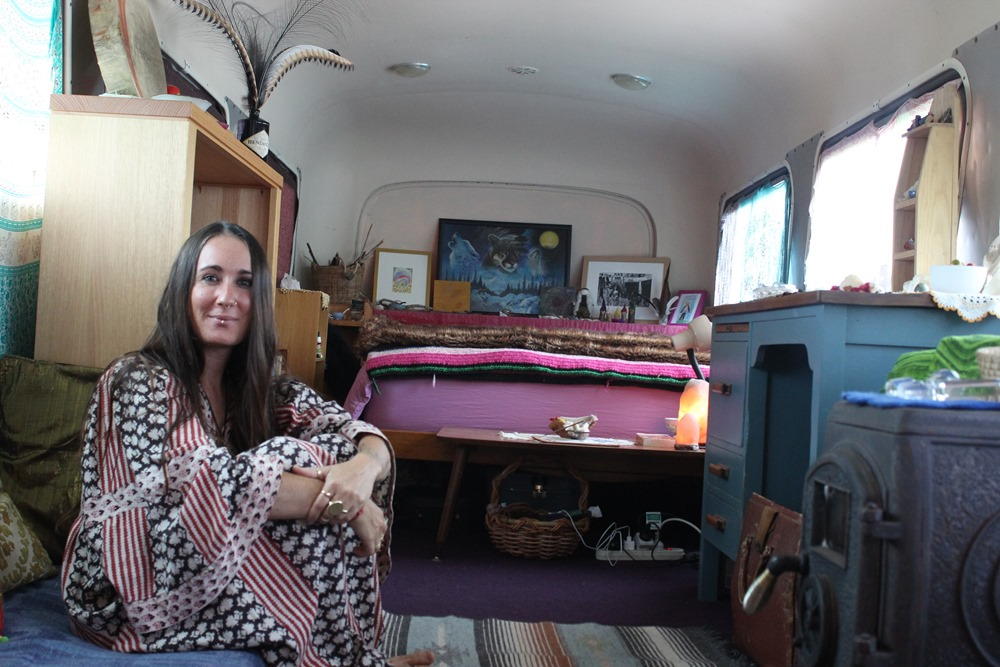 life in a vintage bus: emmy's lifelong dream
